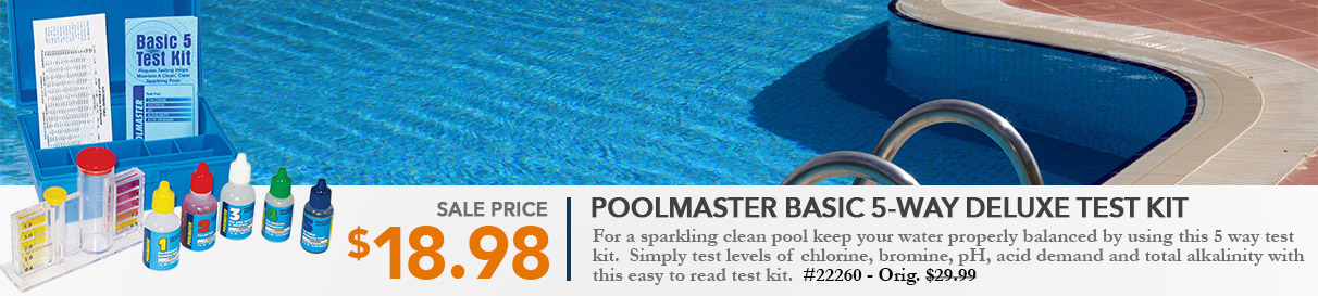 Poolmaster Basic 5-way Deluxe Test Kit