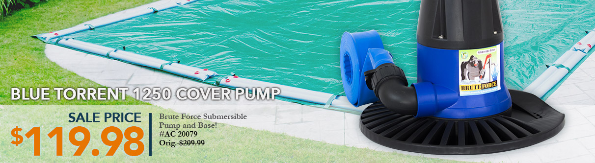 Blue Torrent Cover Pump