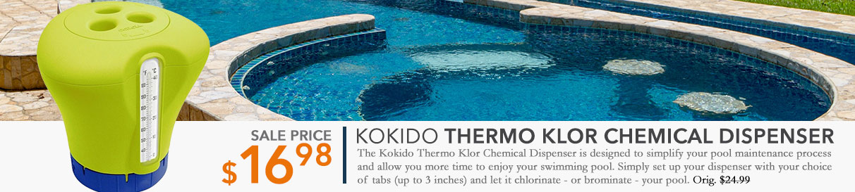 Kokido Thermo Klor Chemical Dispenser - Yellow