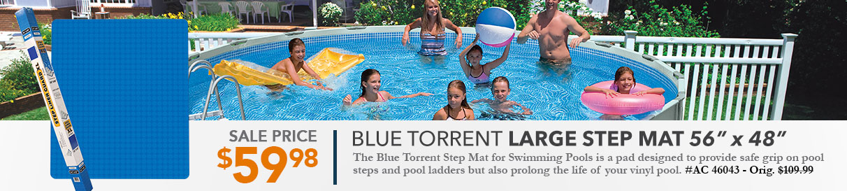 Blue Torrent Large Step Mat
