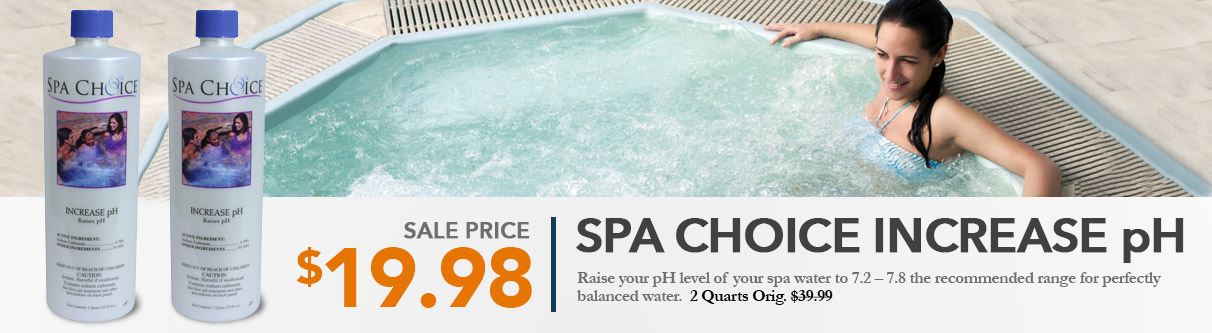 Spa Choice Increase pH