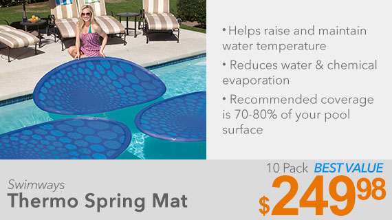 Swimways Thermo Spring Mat