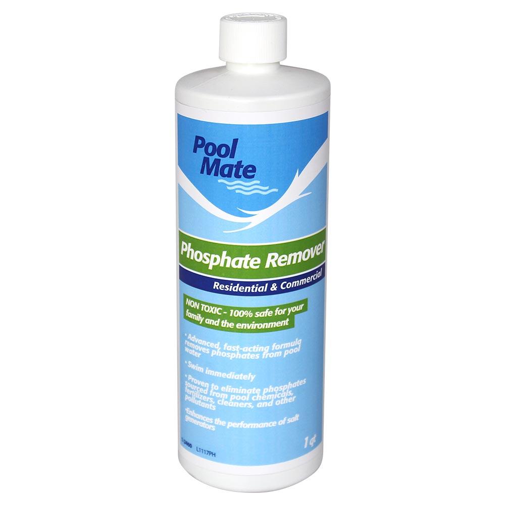 Pool mate swimming pool phosphate remover 1 quart - Phosphate levels in swimming pools ...