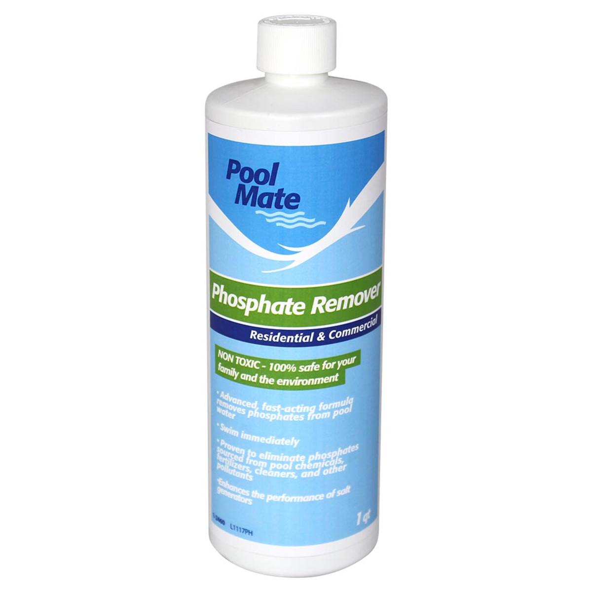 Phosphate remover 1 quart splash super center - Phosphate treatment for swimming pools ...