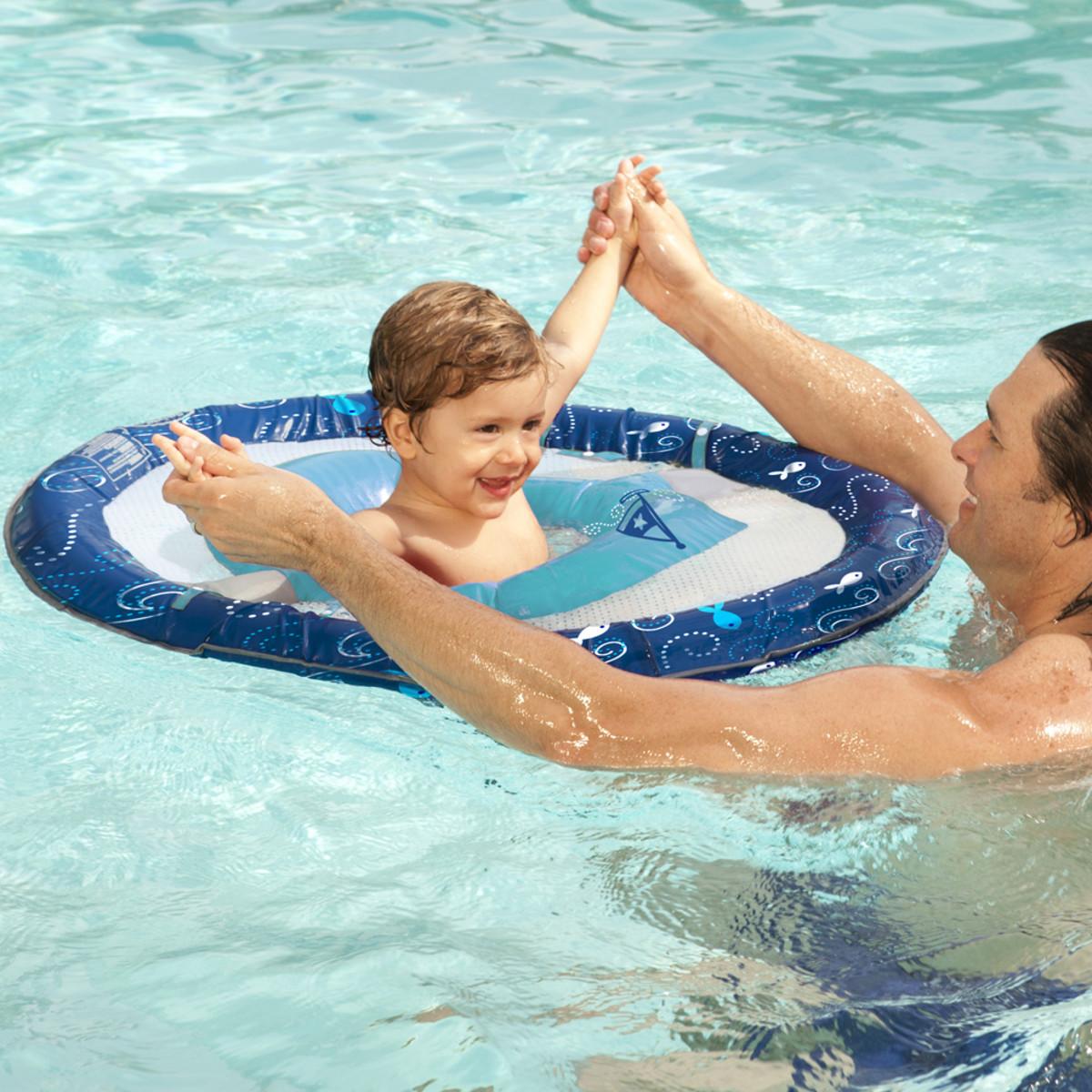 Swimways Baby Spring Float Whale Pool Floats Splash Super Center