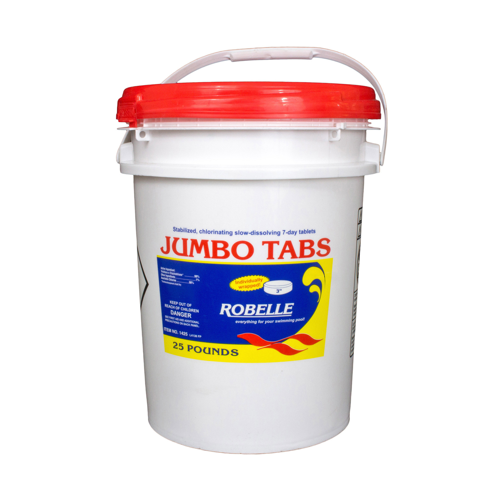 Robelle 3 Quot Jumbo Tabs 50 Lbs 3 Quot Chlorine Pool Tabs