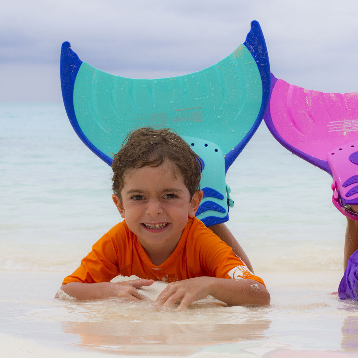 Body Glove Mermaid Mono Fin Blue Pool Toys Splash
