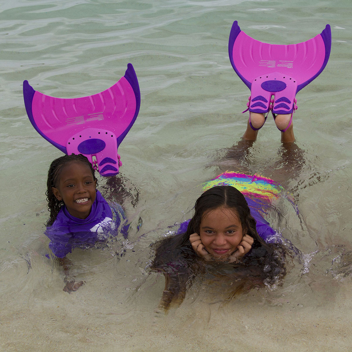 Body Glove Mermaid Mono Fin Pink Pool Toys Splash
