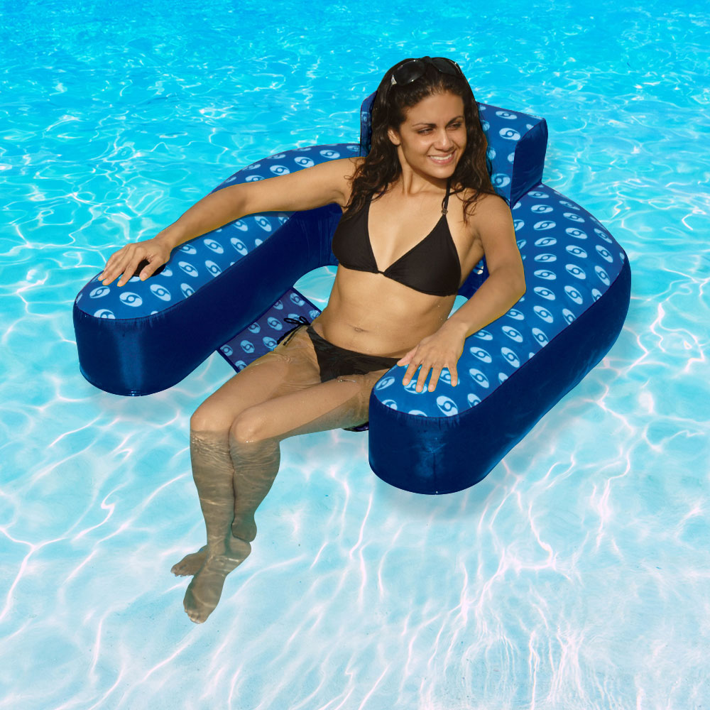 Admirable Poolmaster Water Chair Lounger Ocoug Best Dining Table And Chair Ideas Images Ocougorg