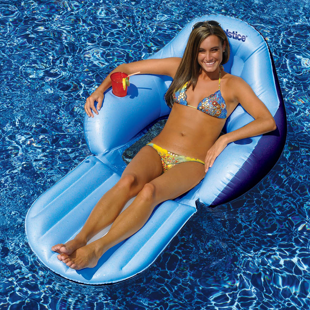 Intex Floating Recliner Lounge Pool Floats Splash
