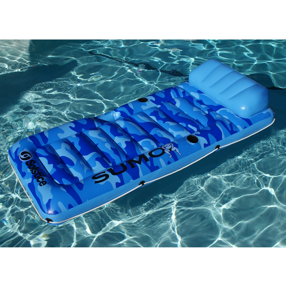 "Solstice 80""L x 36""W Swimming Pool Lake Sumo Inflatable ..."