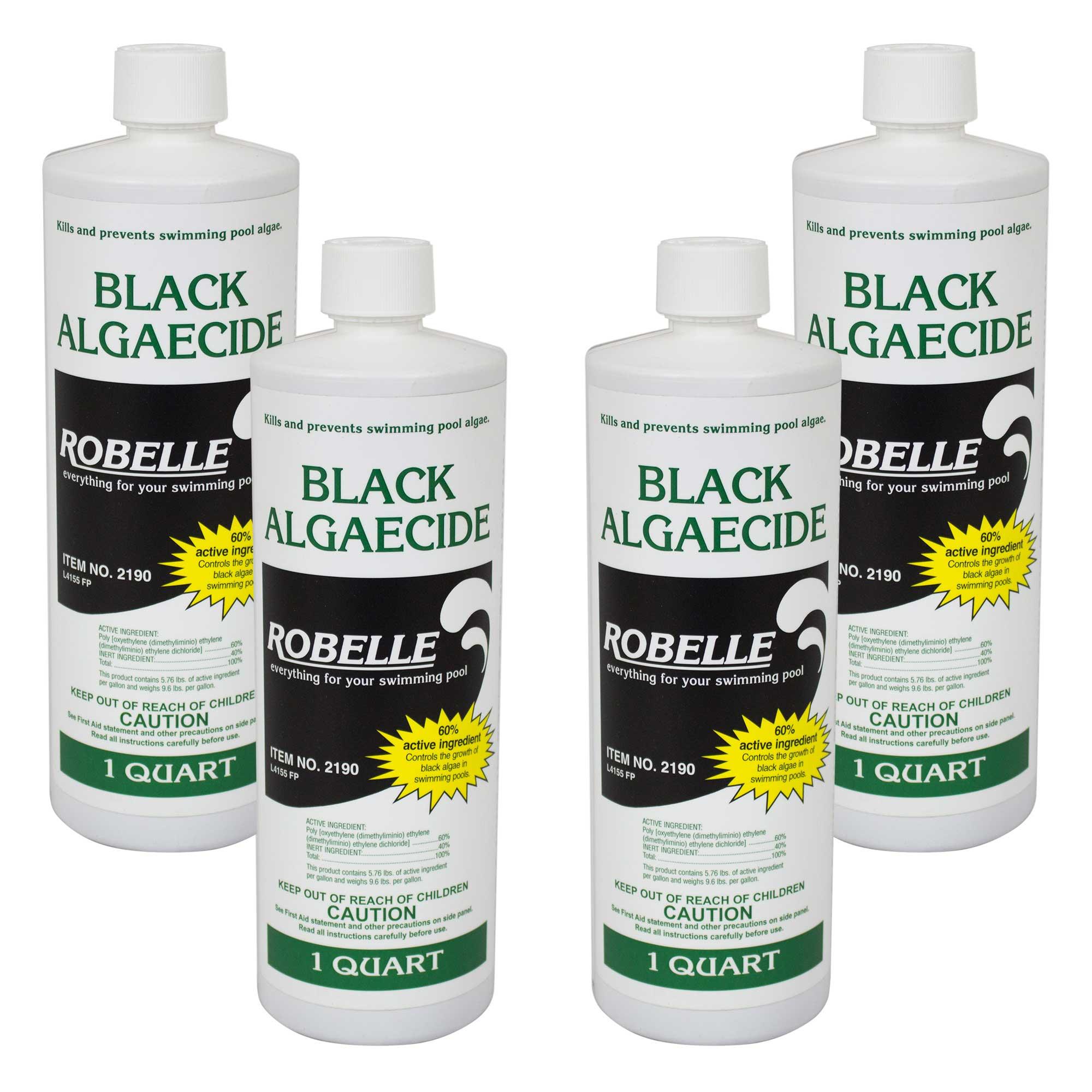 Robelle Black Algaecide 60 Non Foaming Swimming Pool