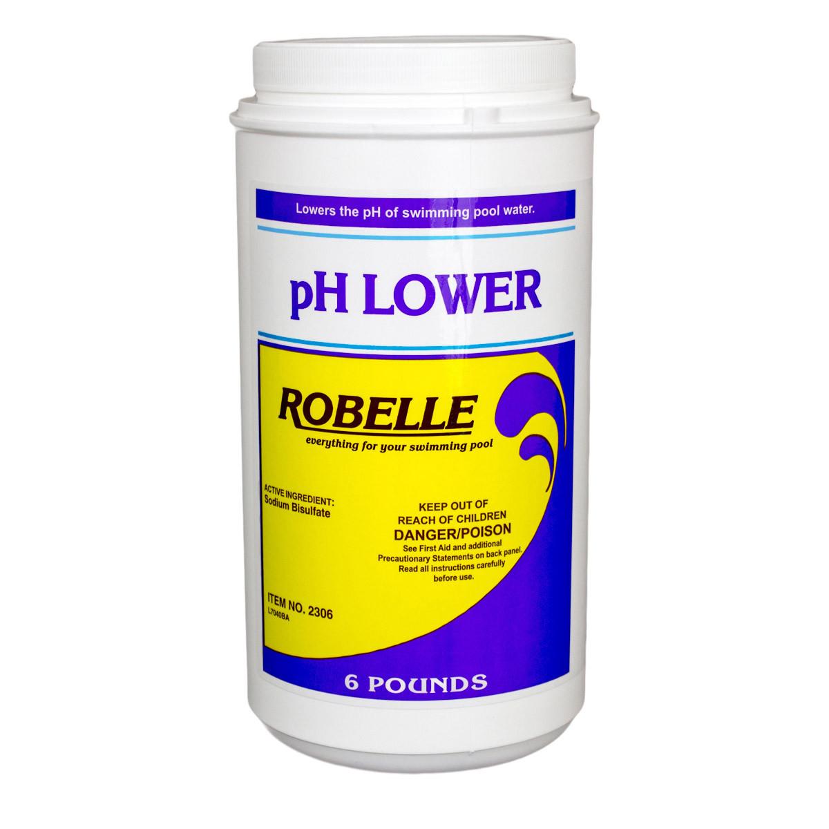 Robelle Ph Lower 6 Lbs Pool Ph Control Splash Super Center