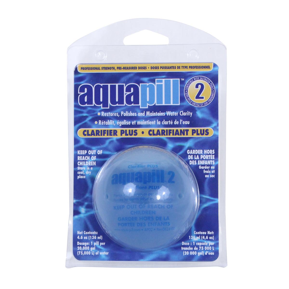 Aqua Pill 2 Clarifier Plus Pool Clarifiers Flocculants Splash Super Center