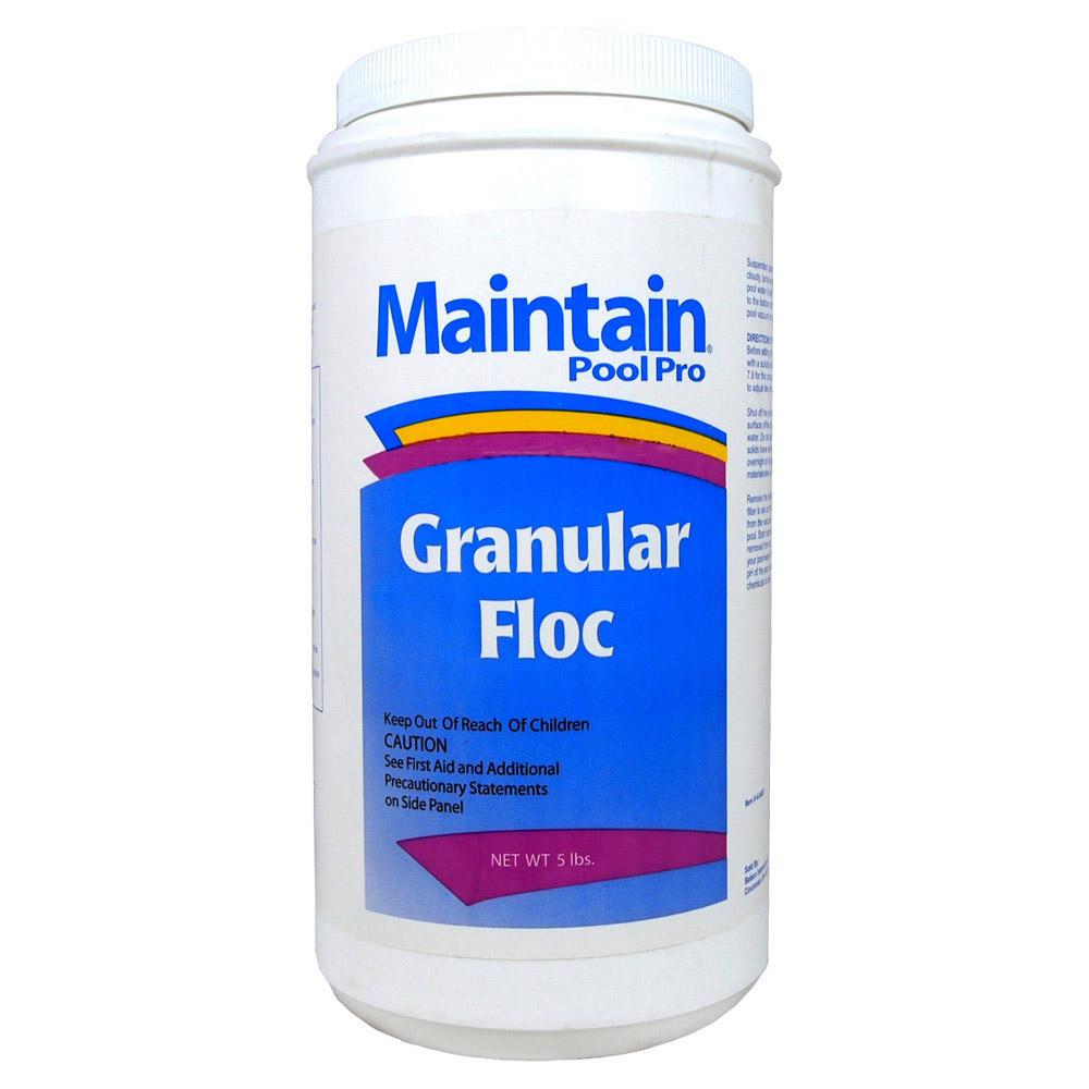 Maintain Aqua Floc Swimming Pool Clarifier Flocculant 5 Lbs Ebay