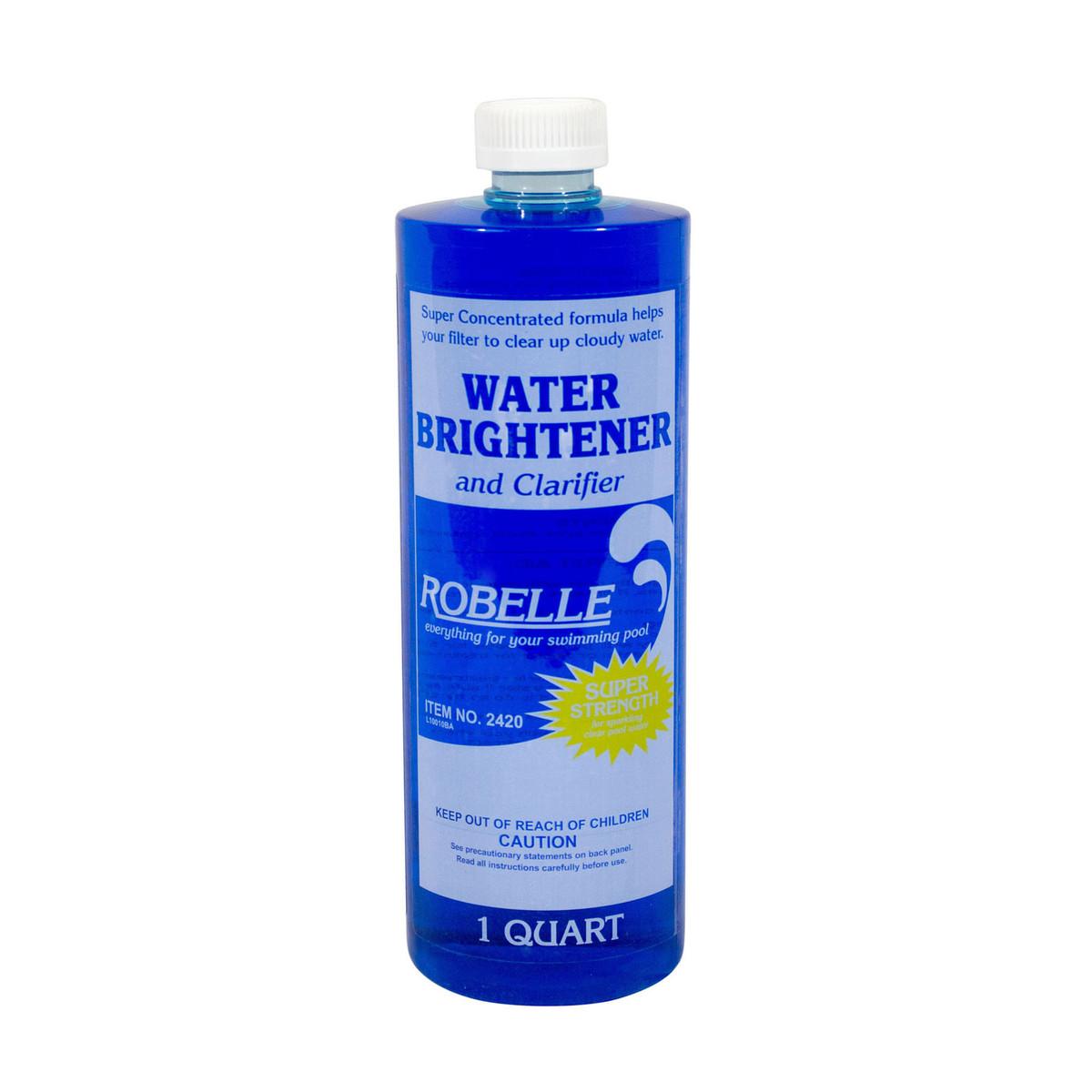 Robelle Brightener Clarifier 1 Quart Pool Clarifiers Flocculants Splash Super Center