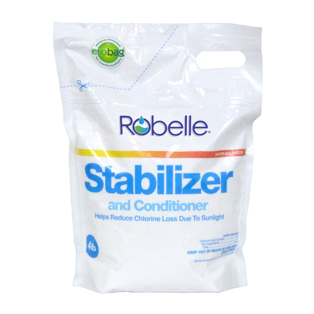 Robelle swimming pool chlorine stabilizer and conditioner How to lower chlorine in swimming pool
