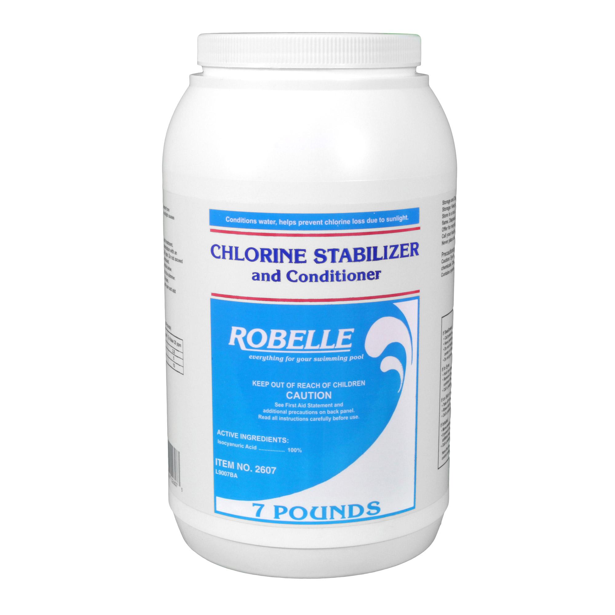 Robelle Chlorine Stabilizer Conditioner 4 Lbs Pool Stabilizer Conditioner Splash Super
