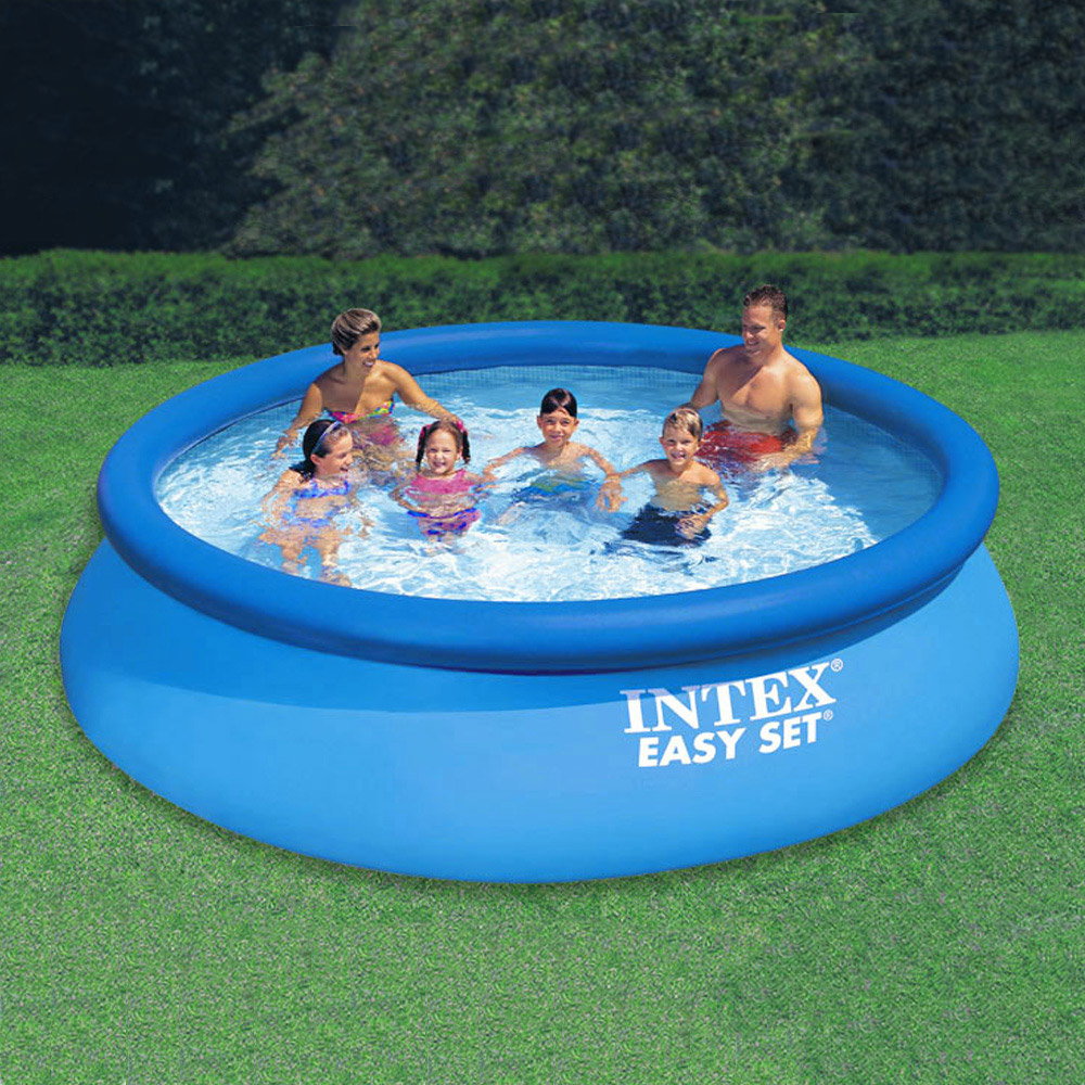 Intex 12 U0026 39  X 30 U0026quot  Easy Set Pool With Filter Pump