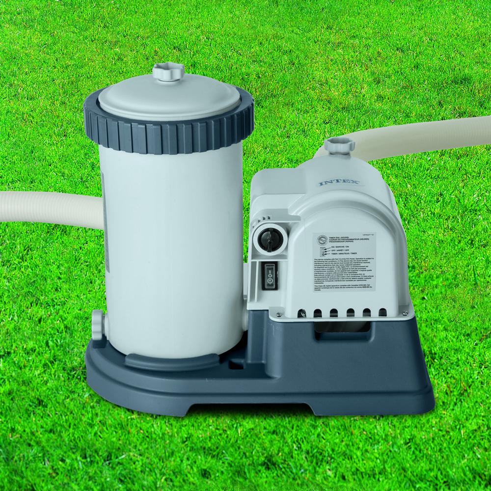 Intex Cartridge Filter Pump 2 500 Gph