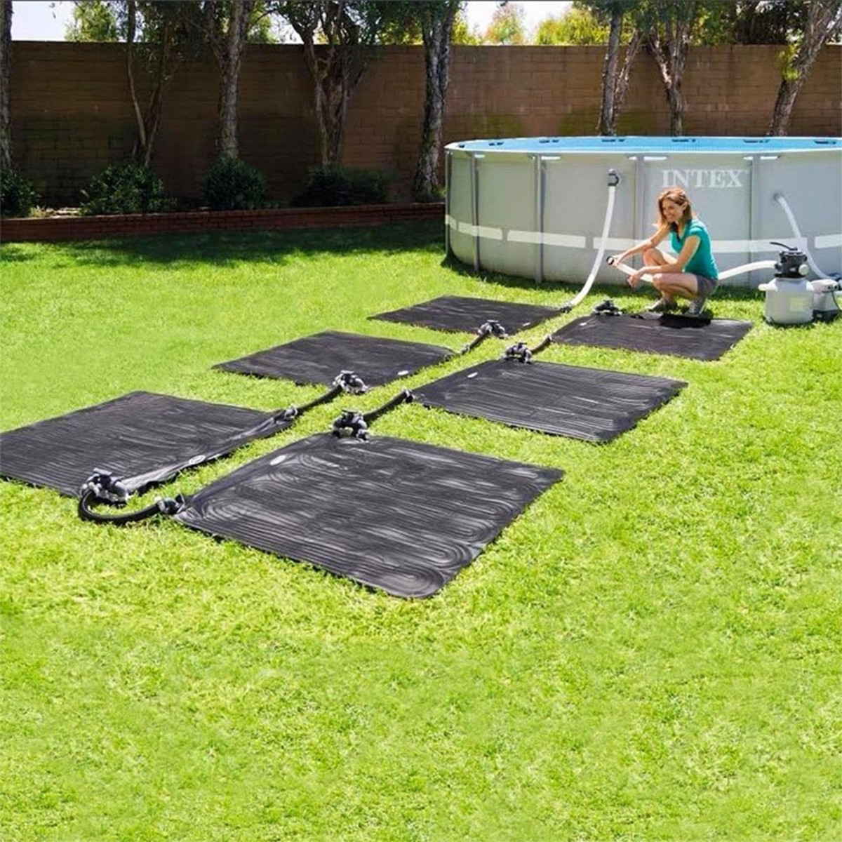 Intex Solar Mat Above Ground Pool Heater Solar Mat