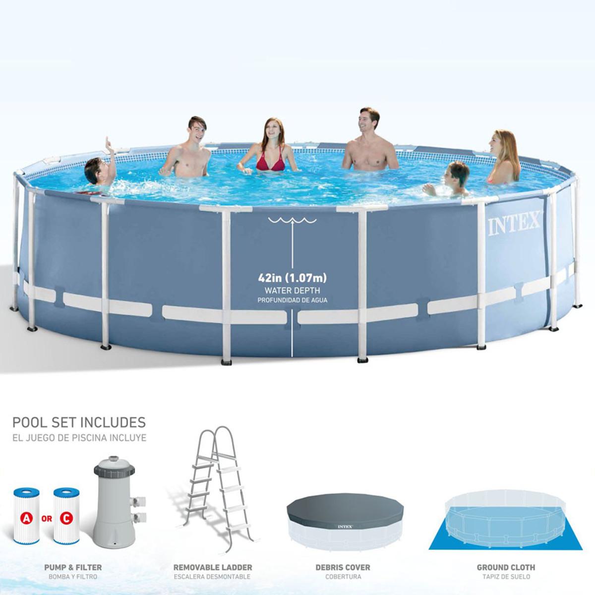 Gemütlich Intex 15 X 48 Ultra Rahmen Pool Fotos - Benutzerdefinierte ...