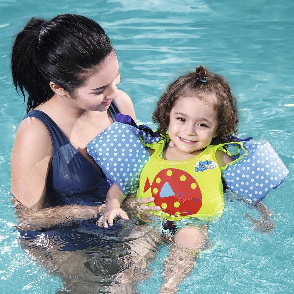 Bestway Swim Pal Duo Swimming Pool Children Swim Vest