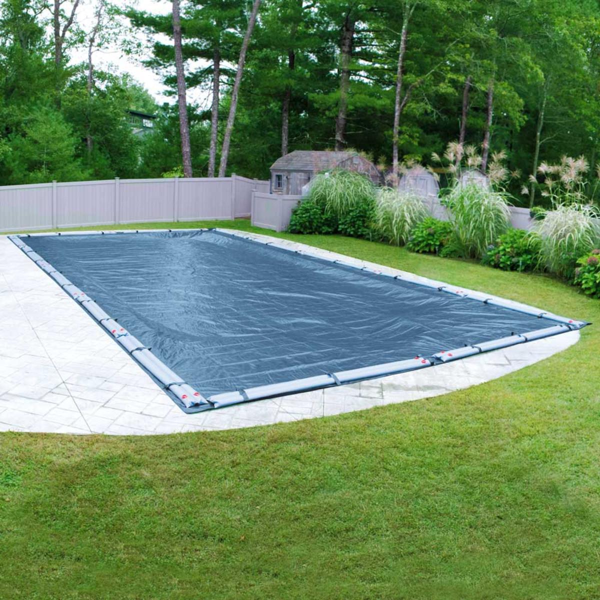 30 X 50 Rectangle Super Blue Pool Cover Splash Super