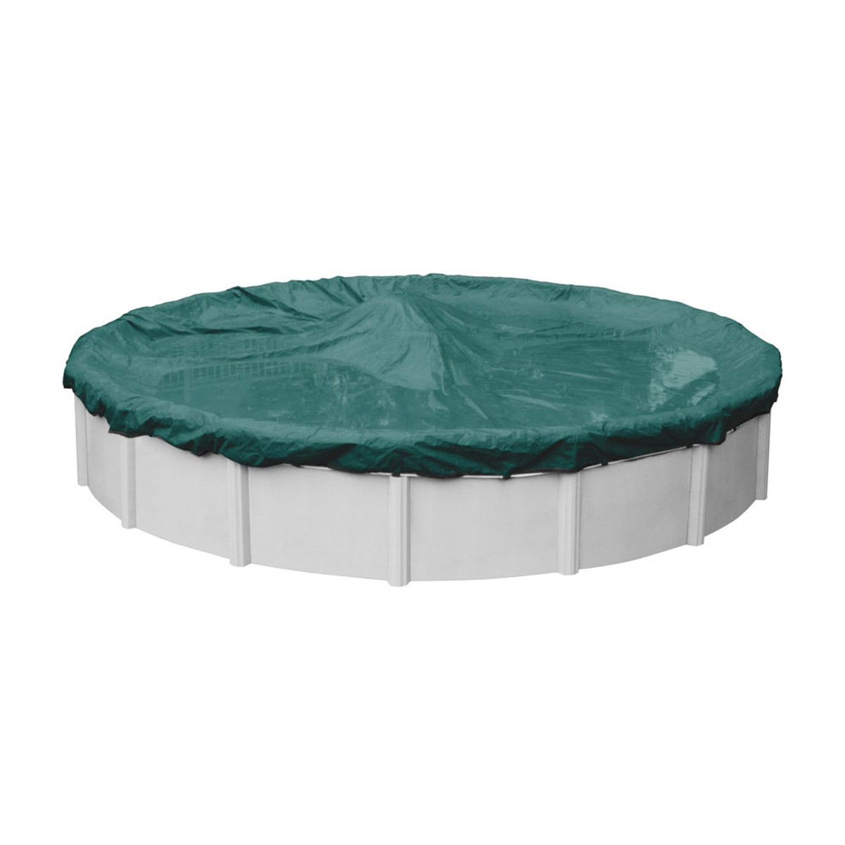 Robelle Supreme Plus 24 39 Round Winter Pool Cover Teal Green Above Ground Pool Covers