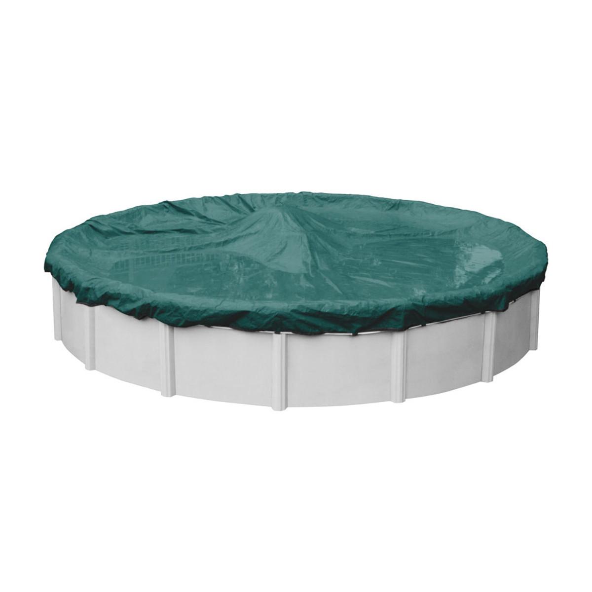 24 39 Round Supreme Plus Teal Pool Cover Splash Super Center