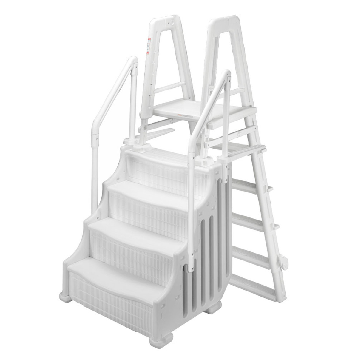 38 Quot Mighty Step Amp Outside Safety Ladder Splash Super Center