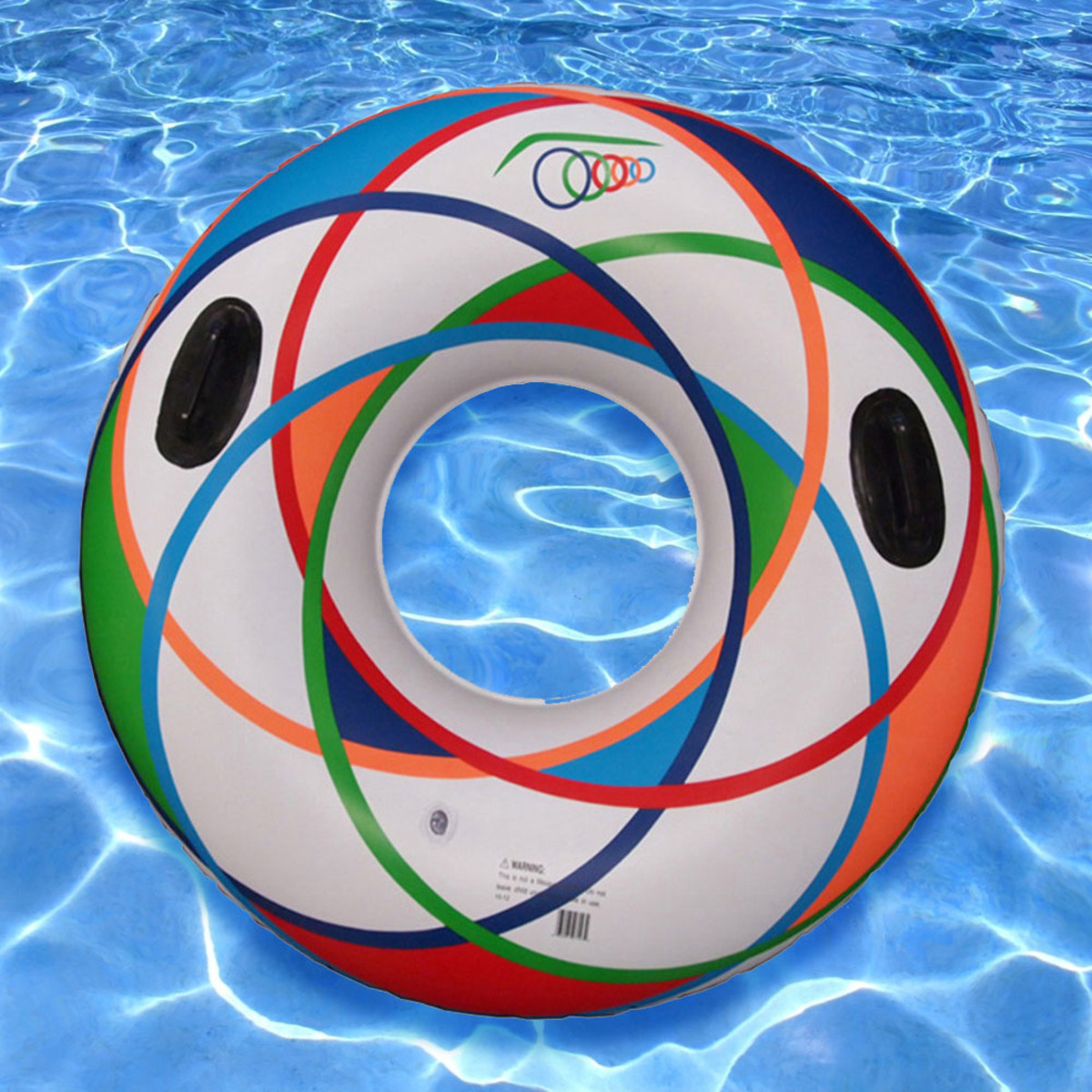Sunsplash 46 sports tube white design pool swim tubes for Sports pool designs