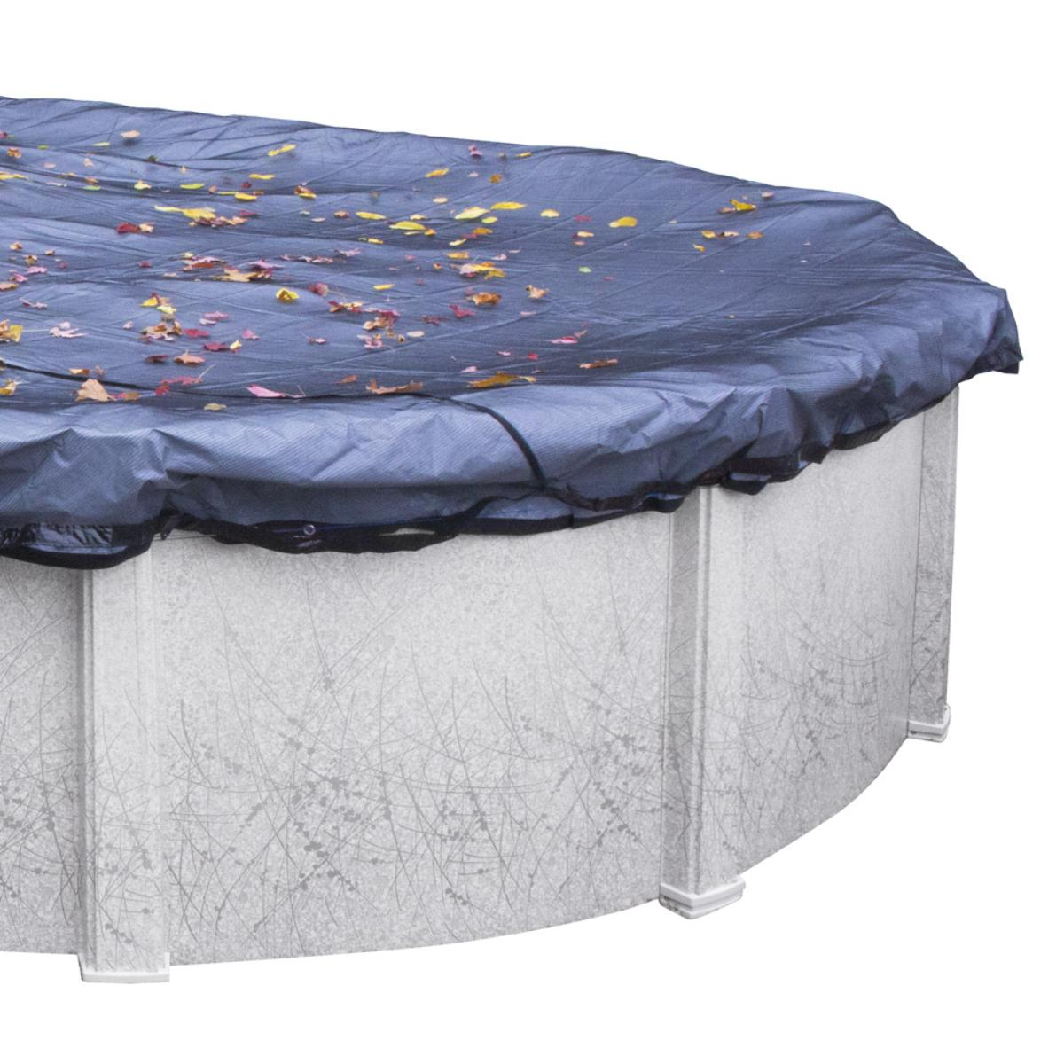 30 Round Premium Charcoal Pool Cover Splash Super Center