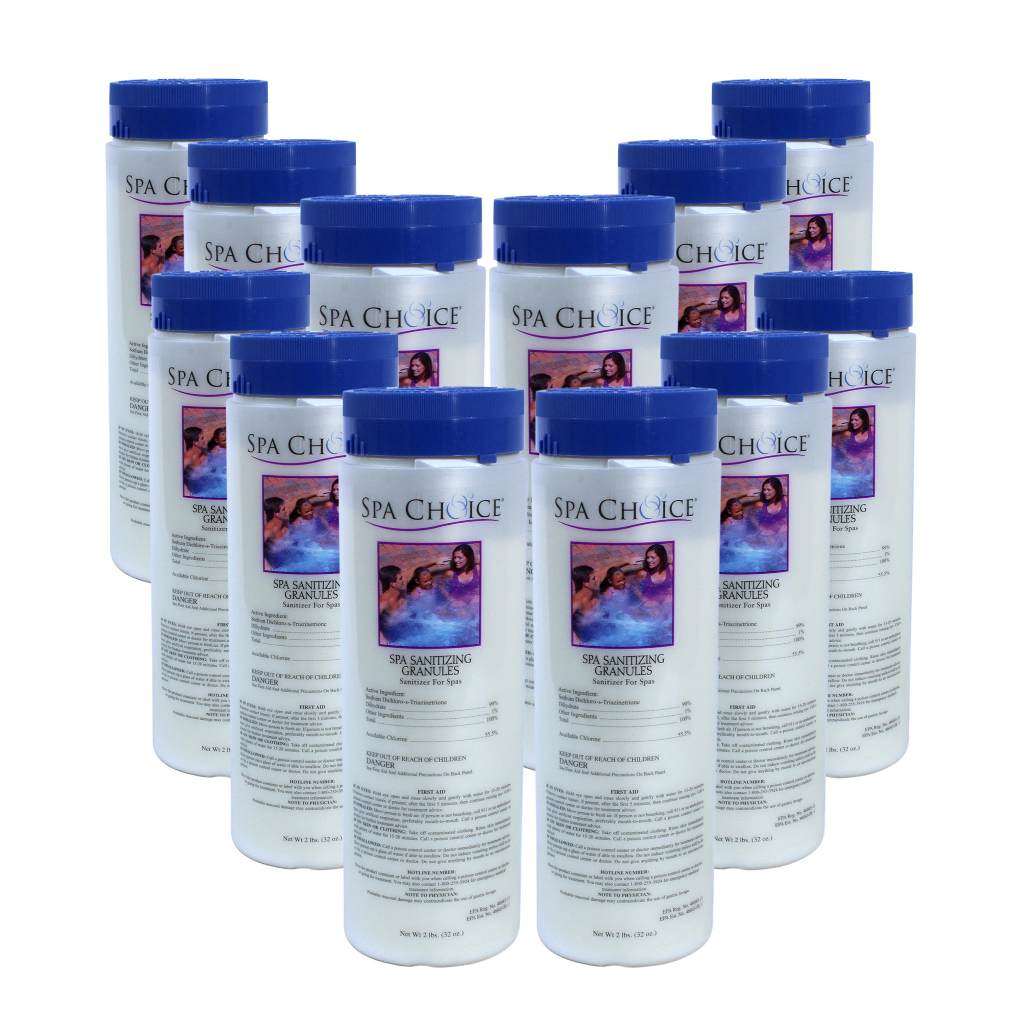 Spa Choice Sanitizing Granules Spa & Hot Tub Sodium Di-Chlor ...