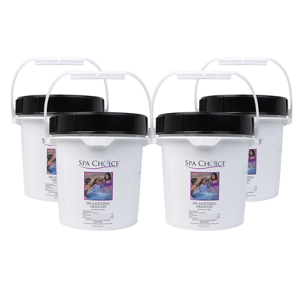 Spa Choice Sanitizing Granules Spa & Hot Tub Stabilized Chlorine ...