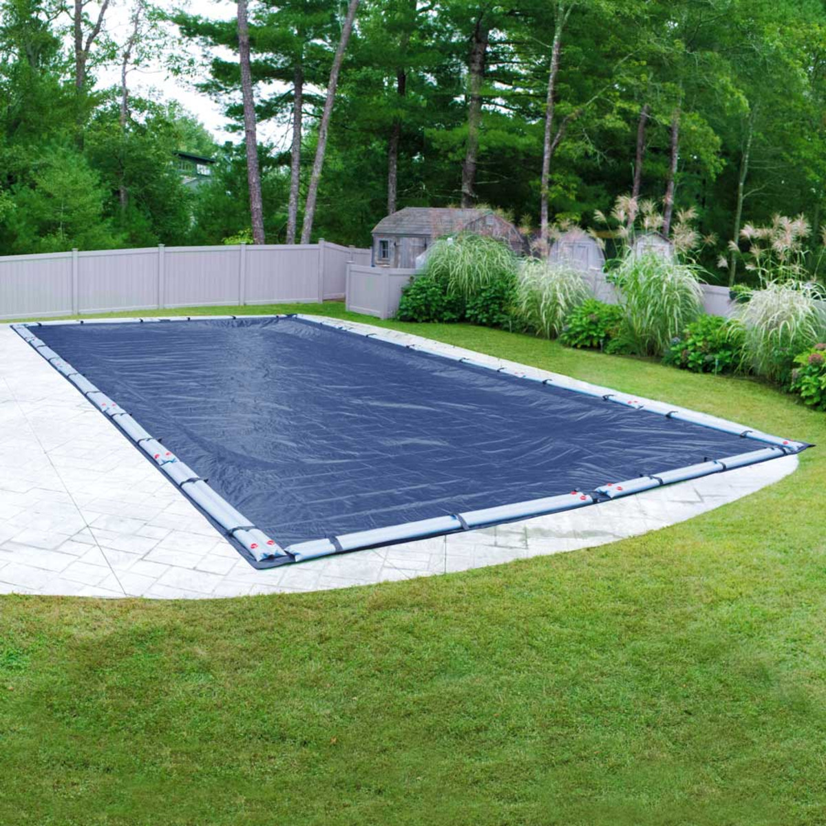 Robelle olympus 20 39 x 40 39 rectangular winter pool cover Winter chemicals for swimming pools