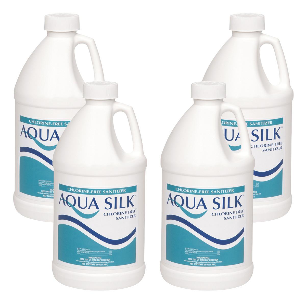 Aqua Silk 4 X 1 2 Gallon Chlorine Free Sanitizer
