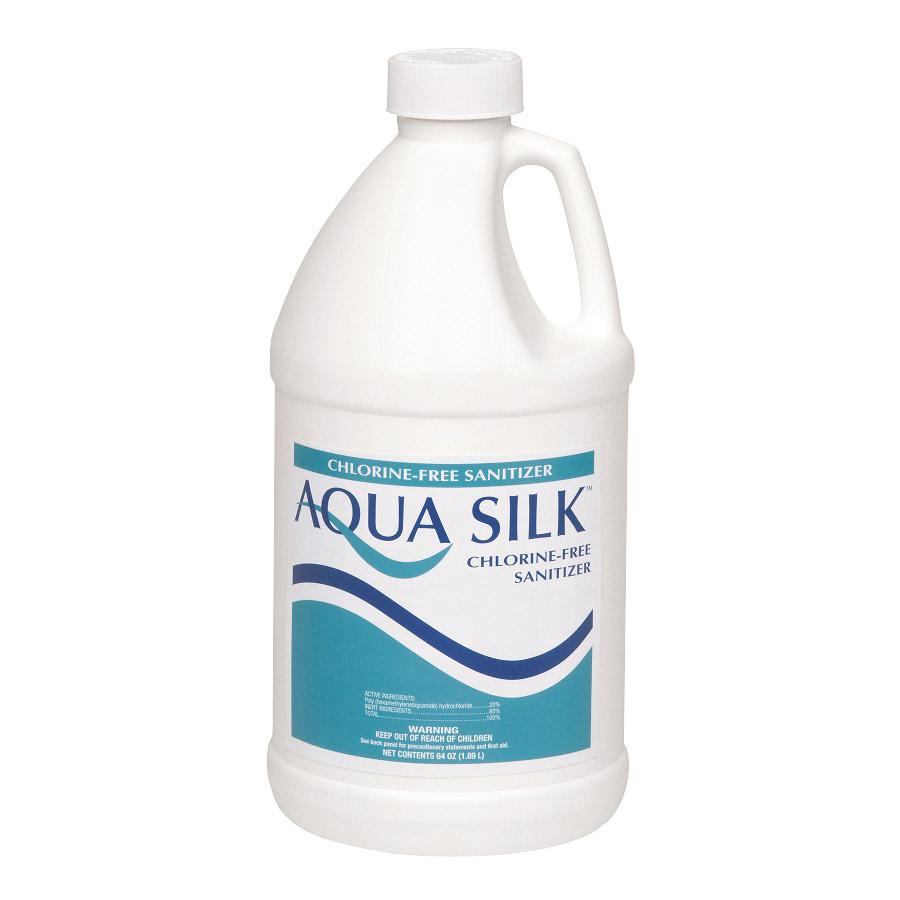 Aqua Silk 1 2 Gallon Chlorine Free Alternative Swimming Pool Sanitizer Ebay