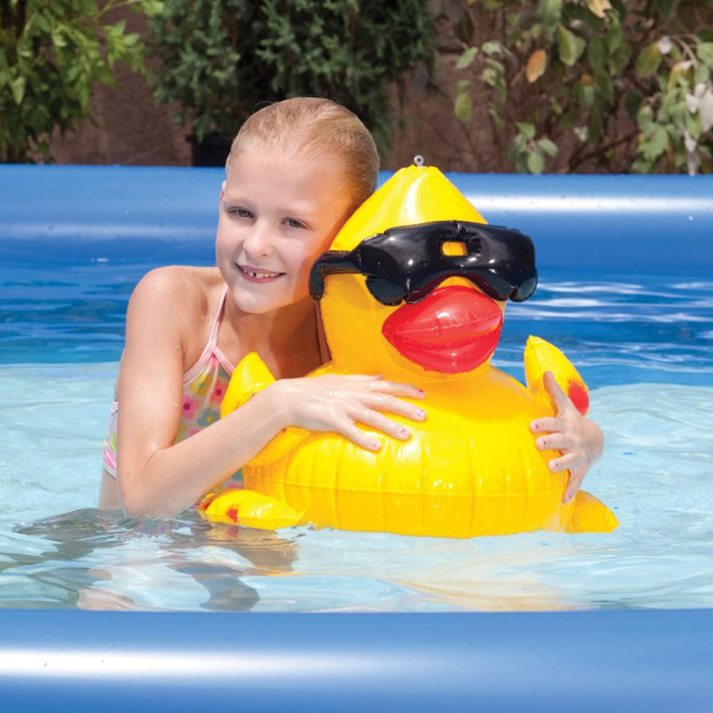 Game Inflatable Derby Duck Swimming Pool Float Ebay