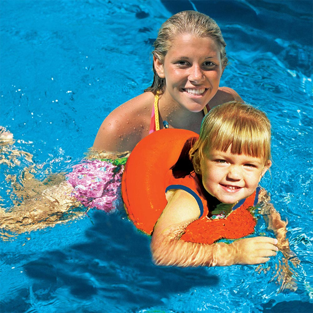 Poolmaster Swimming Pool Children Inflatable Tube Trainer