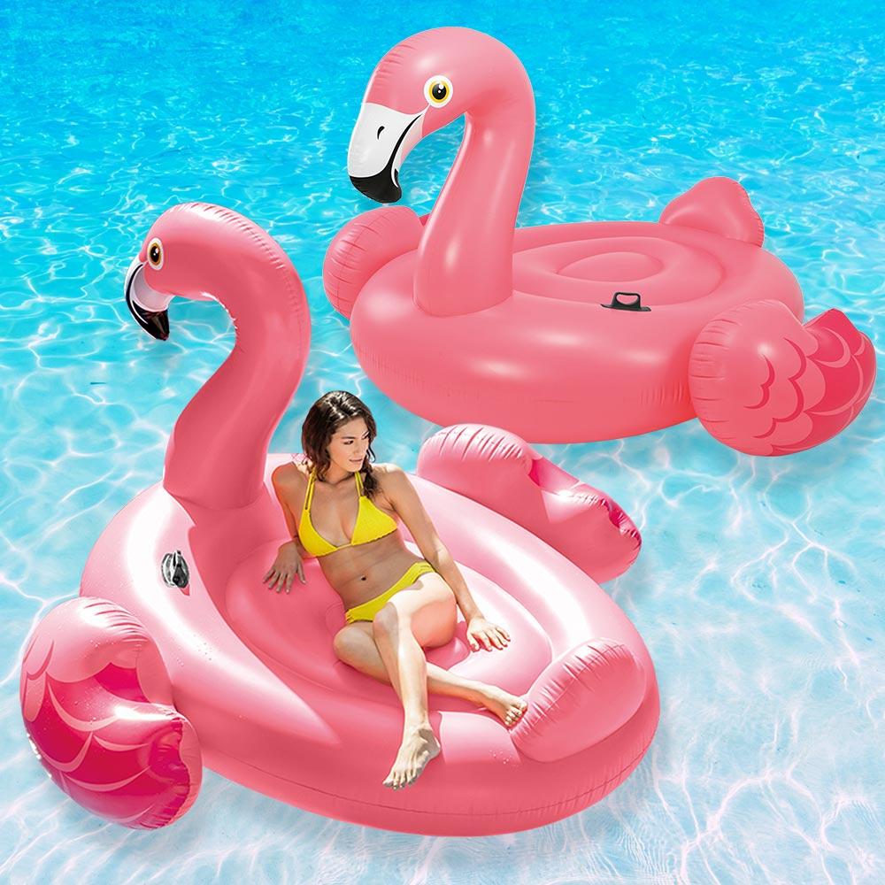 Intex 86 Quot Mega Flamingo Floating Island Swimming Pool