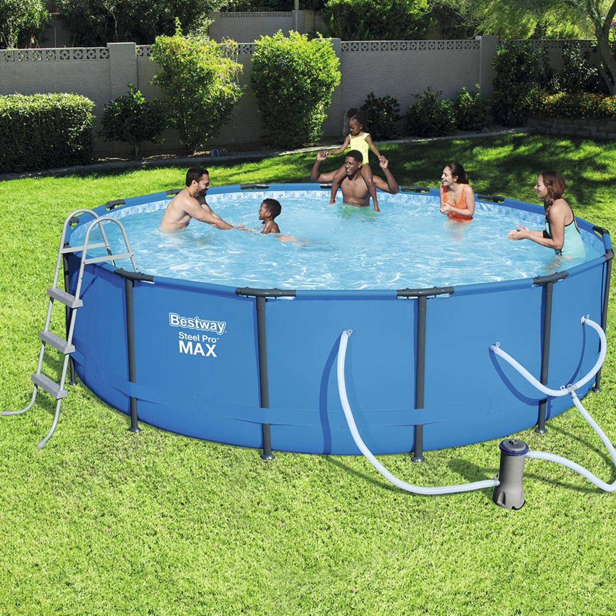 Bestway 15 X 42 Quot Steel Pro Pool Set Splash Super Center