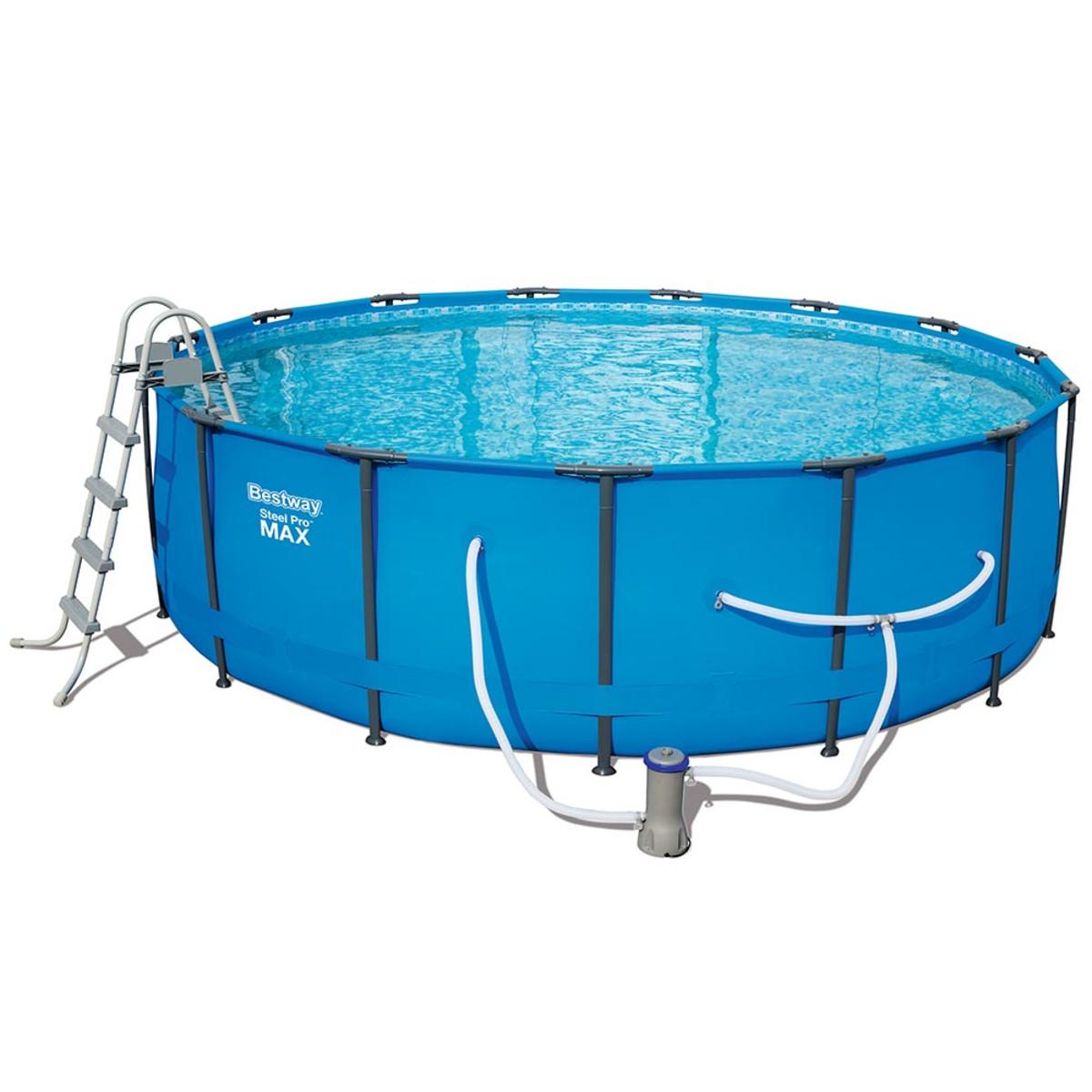 Bestway 15 X 48 Quot Steel Pro Max Pool Set Splash Super Center