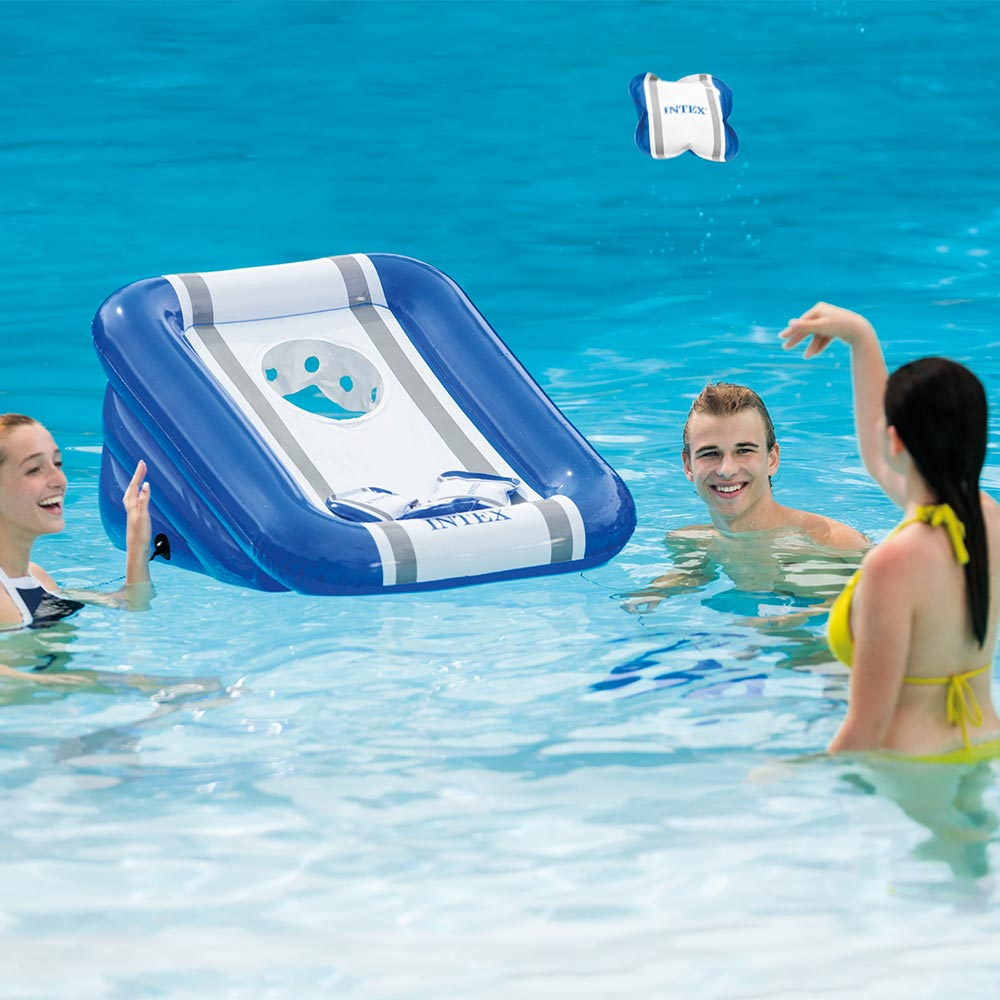 Intex Beanbag Toss Pool Side Back Yard Party Game 2 Pack
