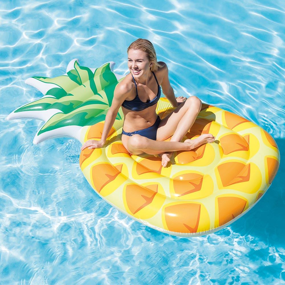 Intex Pineapple Swimming Pool Beach Amp Lake Mat Food Float