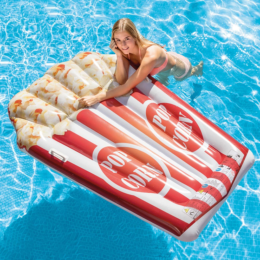 Details about Intex Popcorn Swimming Pool Floating Mat