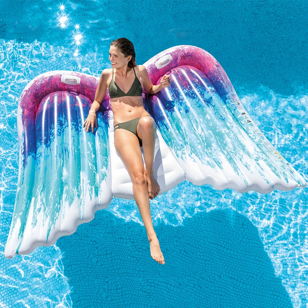Intex Angel Wings Swimming Pool Floating Mat | eBay
