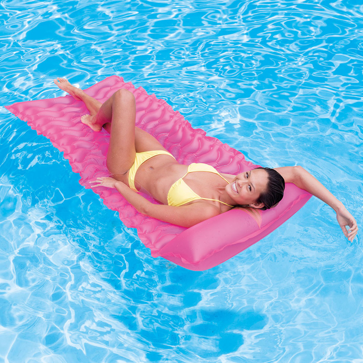 Intex Tote N Float Wave Mat Pink Pool Floats Splash