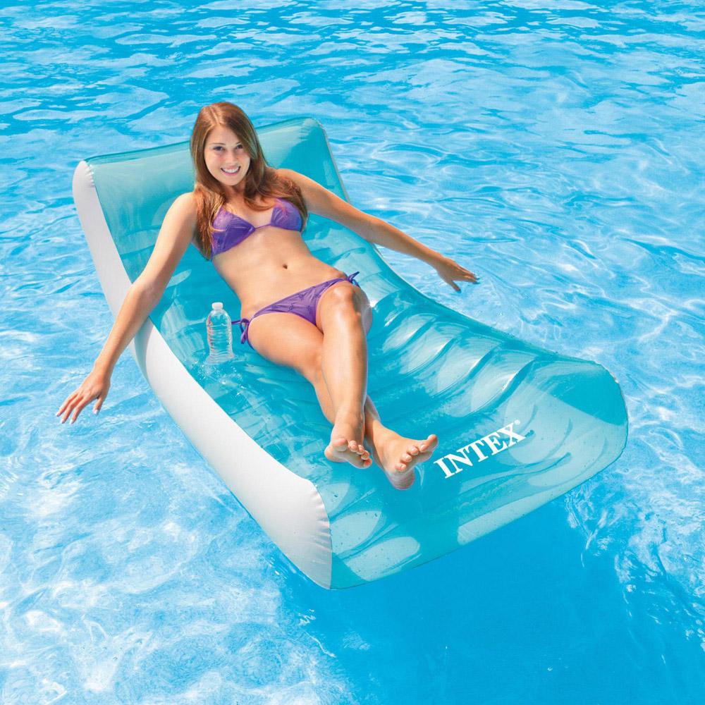 Intex Floating Recliner Lounge Pool Floats Splash