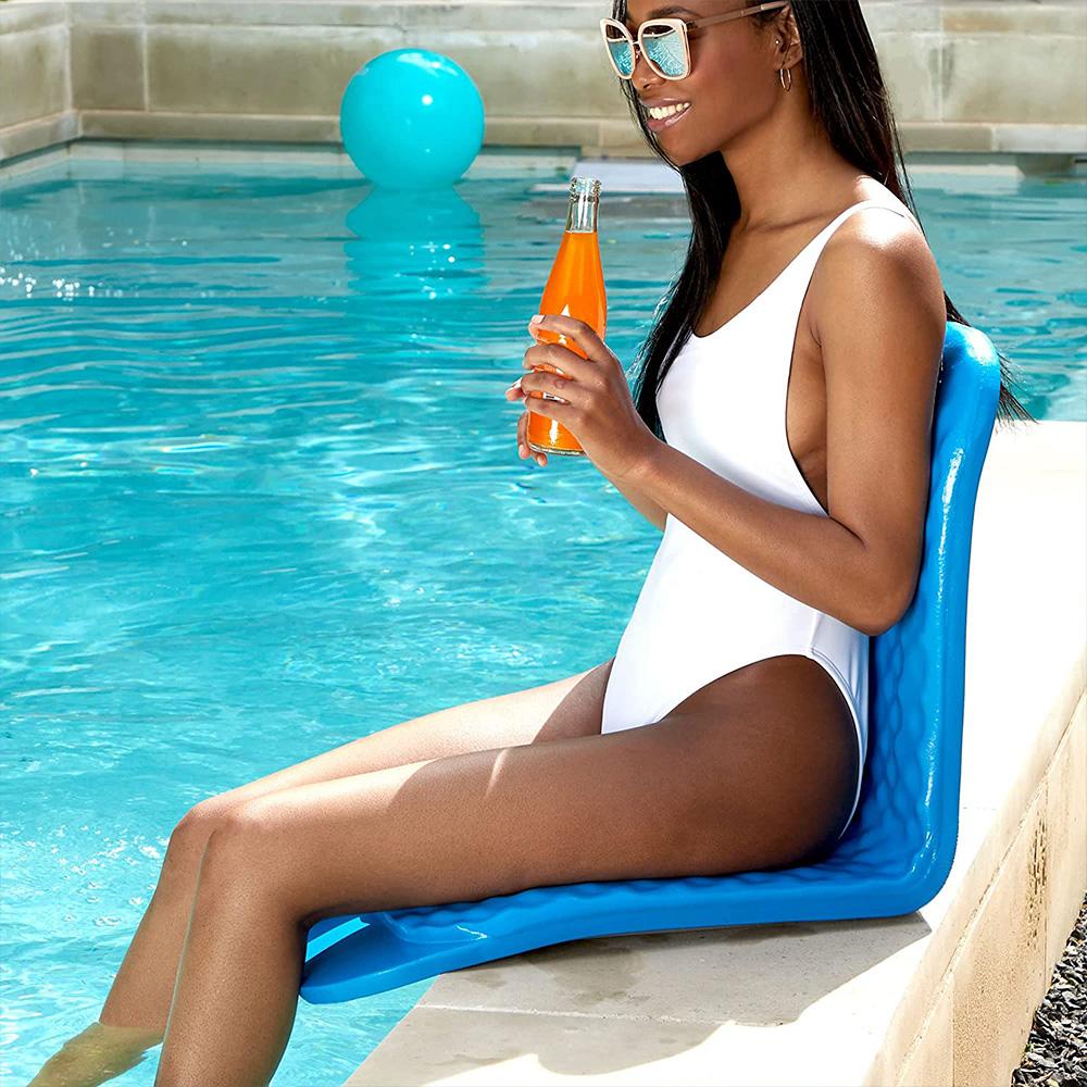 Texas Rec Poolside Cushion Bronze Pool Floats Splash